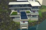 Villa in Thailand 3d model