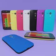 Motorola Moto G Todos los colores modelo 3d