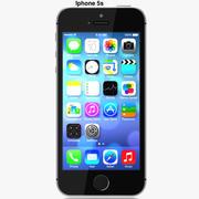 Iphone 5s Gray 3d model
