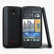 HTC Desire 500 Schwarz 3d model