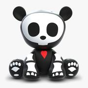 Skelanimal Andy Panda Toy 3d model