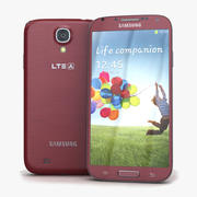 Samsung I9506 Galaxy S4 Red Aurora 3d model