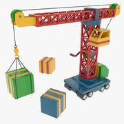 Toy Crane 3d model