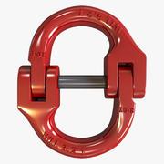 연결 링크 3d model