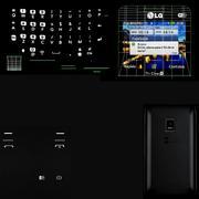 LG Tri Chip C333 3d model
