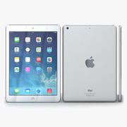 Apple iPad Air Silver 3d model