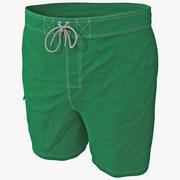 男士泳裤 3d model