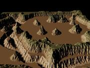 Black Rock Canyon 3d model