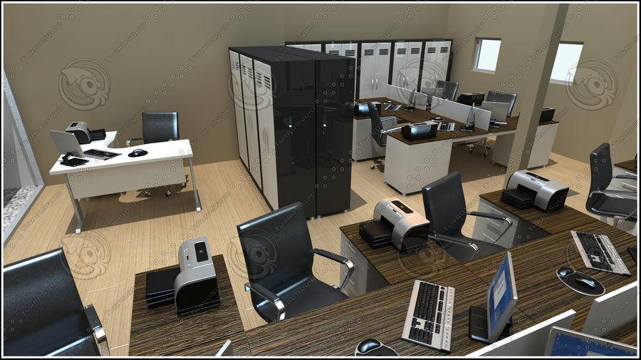 Escena del espacio de oficina royalty-free modelo 3d - Preview no. 4
