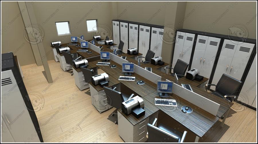 Escena del espacio de oficina royalty-free modelo 3d - Preview no. 3