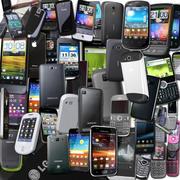 Colección de teléfonos - 31 teléfonos modelo 3d