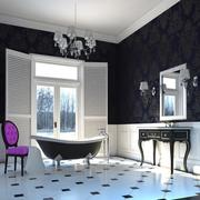 Glamour Bathroom(1) 3d model