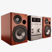 Stereo System Sony 3d model