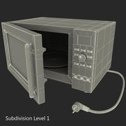 Four micro onde 3d model