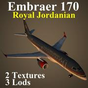 E170 RJA 3d model