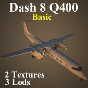 DH8D Basic 3d model