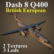 DH8D BEE 3d model