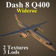 DH8D WIF 3d model