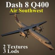 DH8D WOW 3d model