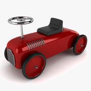 レトロなおもちゃの車 3d model