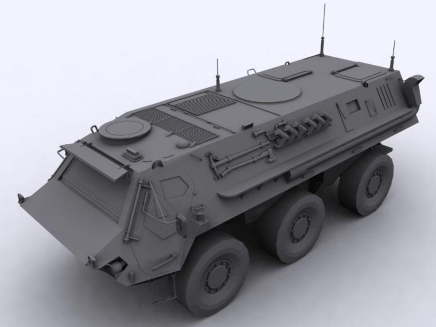 APC Fuchs royalty-free 3d model - Preview no. 2
