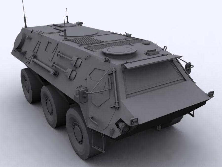 APC Fuchs royalty-free 3d model - Preview no. 4