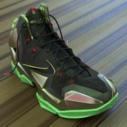 Sapatilhas de basquetebol Lebron 11 3d model
