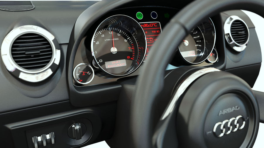 Car - Vehicle Dashboard royalty-free 3d model - Preview no. 1