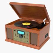 Crosley Antique Turntable 3d model