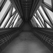 Sci Fiトンネル 3d model