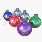 Noel topları 3d model