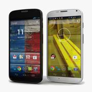 Motorola Moto X Black & White 3d model