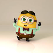 Желтый Мальчик 3d model