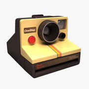 Polaroid kamera 3d model