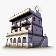 Stedelijk gebouw, toegankelijk 3d model