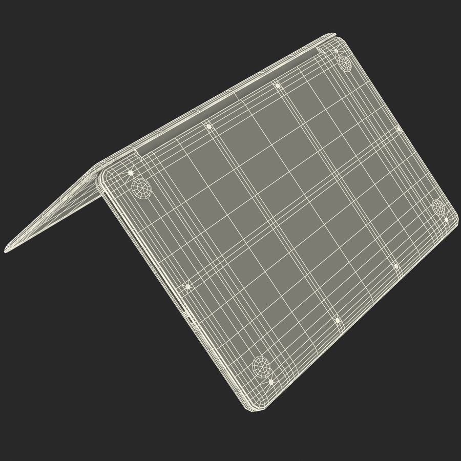 Apple MacBookPro 15 royalty-free 3d model - Preview no. 40