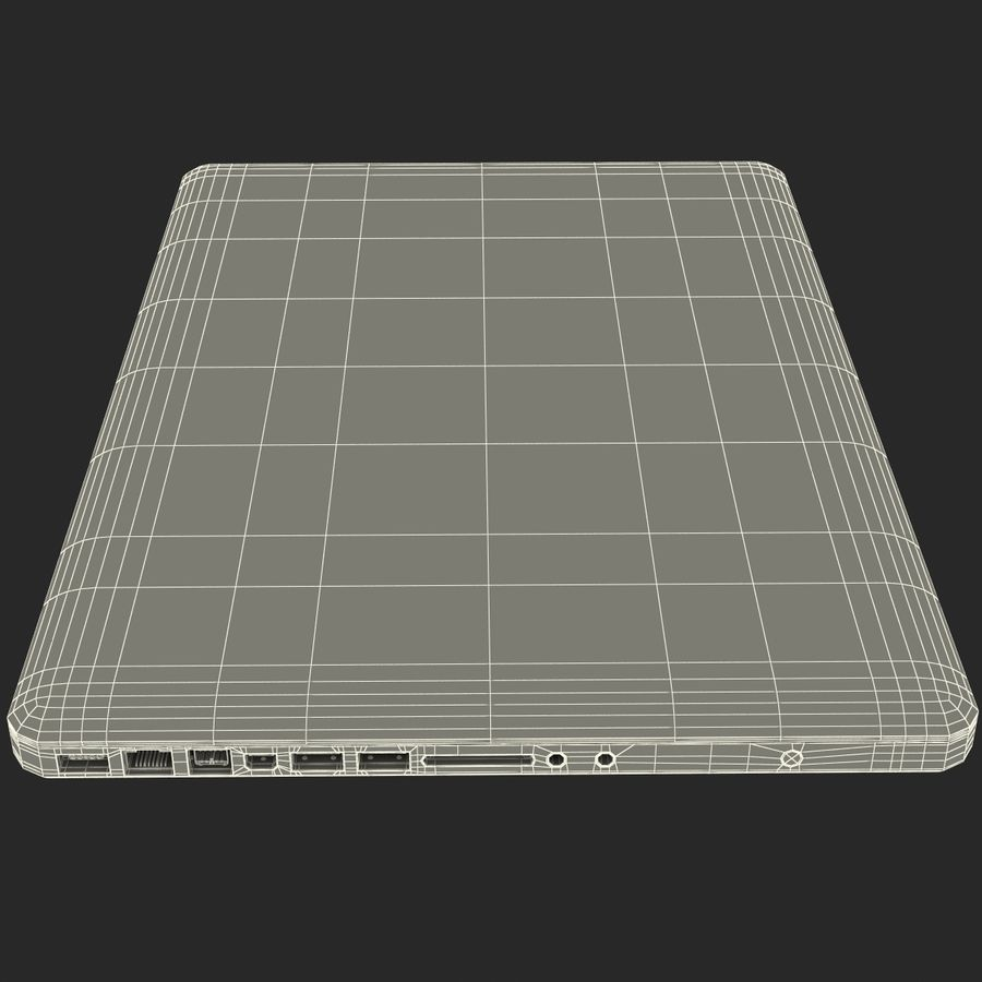 Apple MacBookPro 15 royalty-free 3d model - Preview no. 54