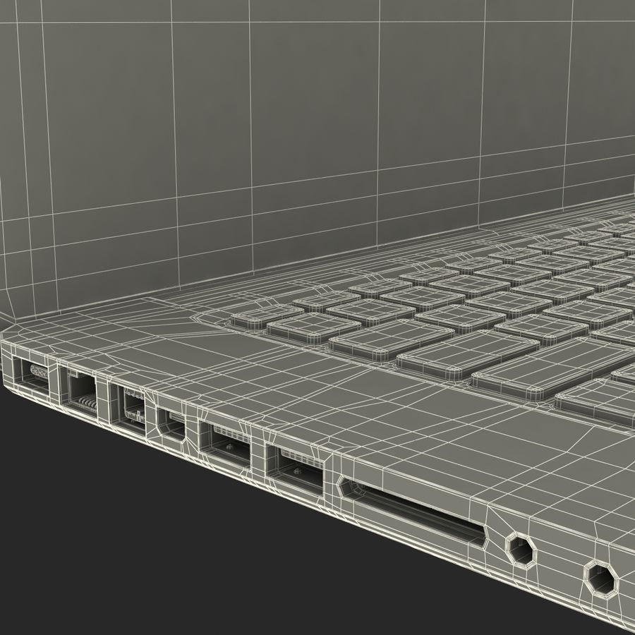 Apple MacBookPro 15 royalty-free 3d model - Preview no. 46