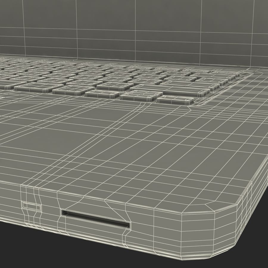 Apple MacBookPro 15 royalty-free 3d model - Preview no. 48