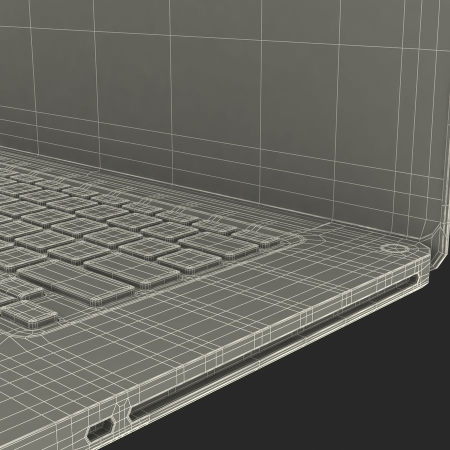Apple MacBookPro 15 royalty-free 3d model - Preview no. 49