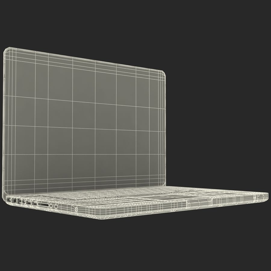 Apple MacBookPro 15 royalty-free 3d model - Preview no. 44