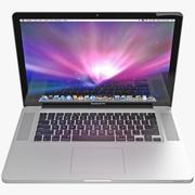Apple MacBookPro 15 3d model