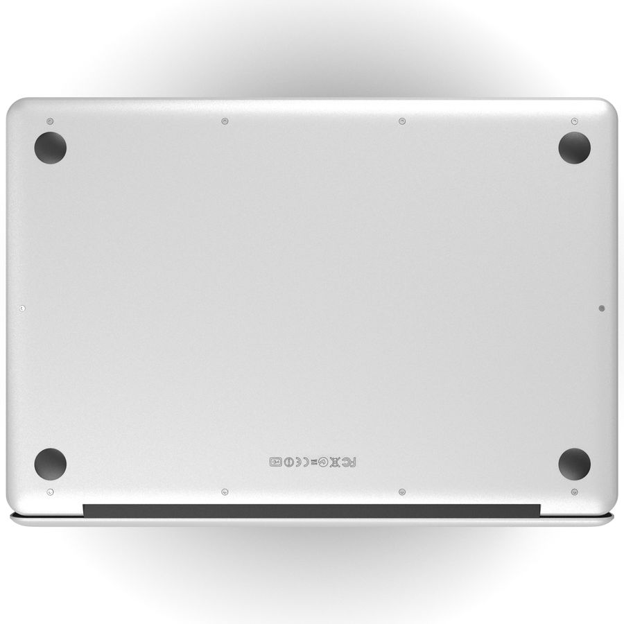 Apple MacBookPro 15 royalty-free 3d model - Preview no. 8