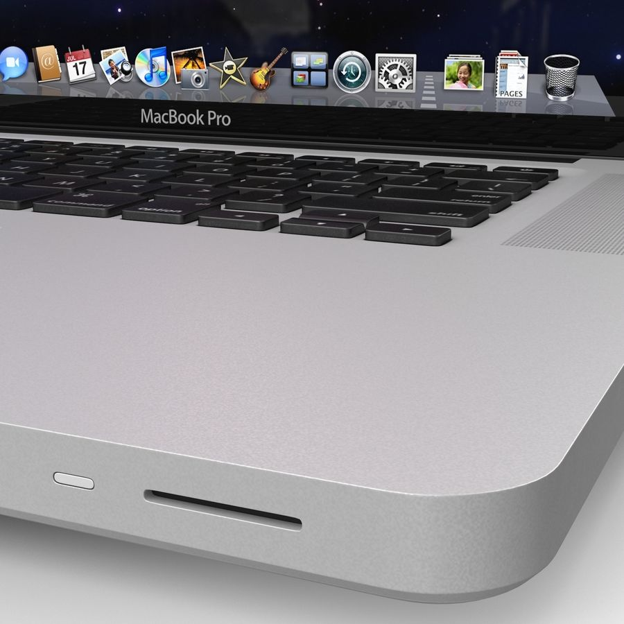 Apple MacBookPro 15 royalty-free 3d model - Preview no. 17