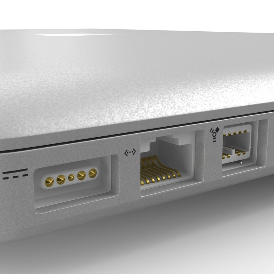 Apple MacBookPro 15 royalty-free 3d model - Preview no. 26