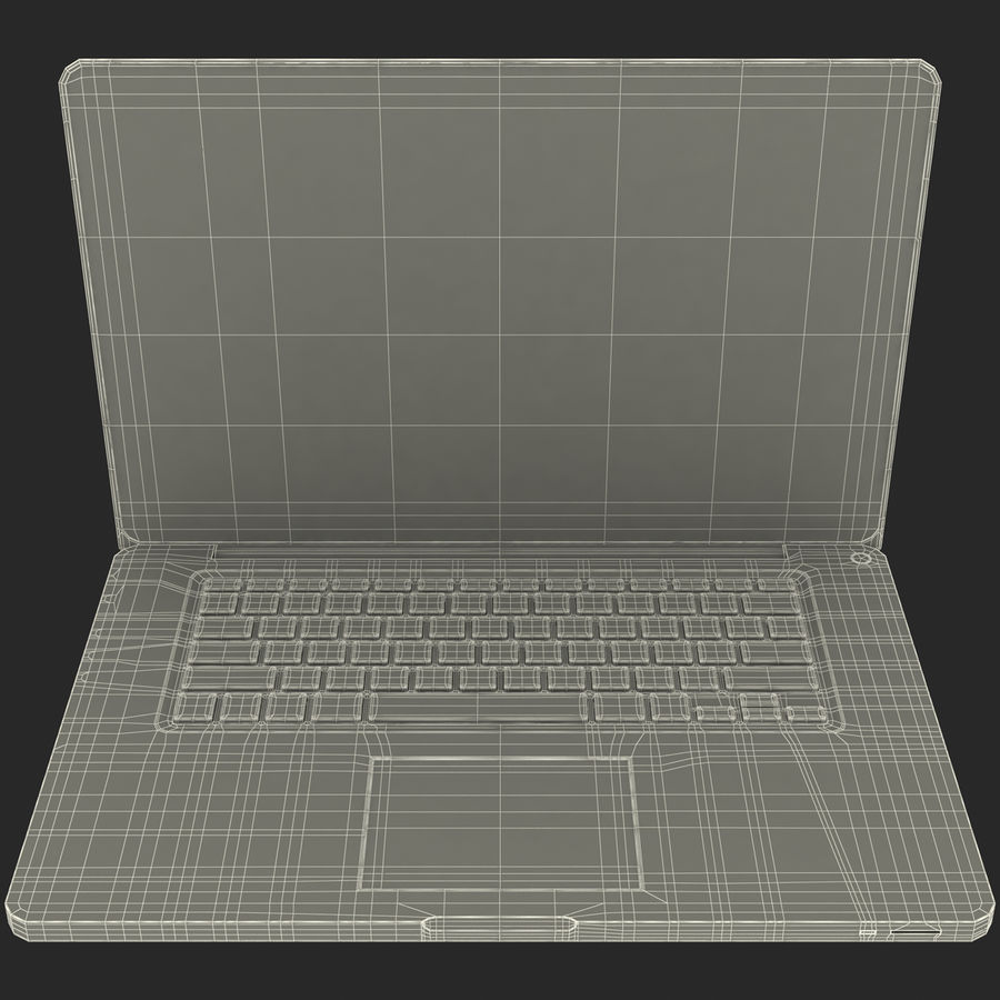 Apple MacBookPro 15 royalty-free 3d model - Preview no. 33