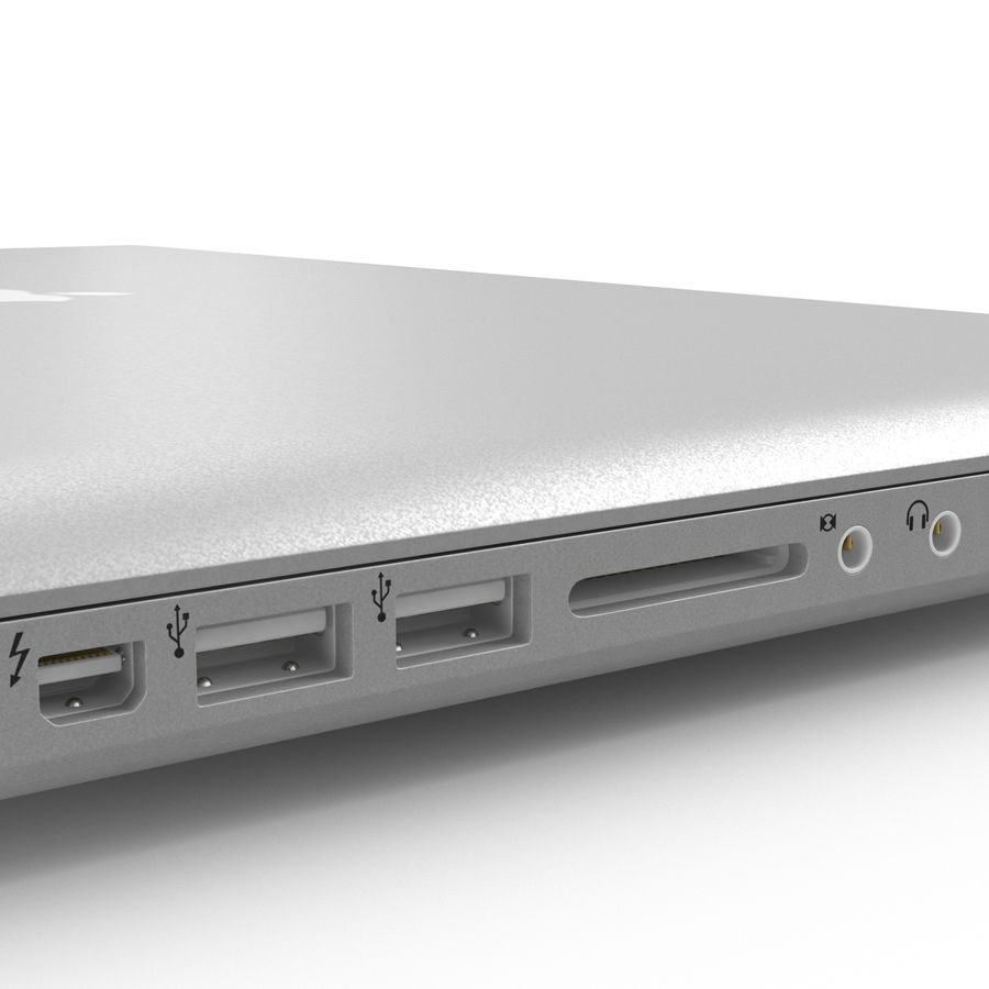 Apple MacBookPro 15 royalty-free 3d model - Preview no. 27