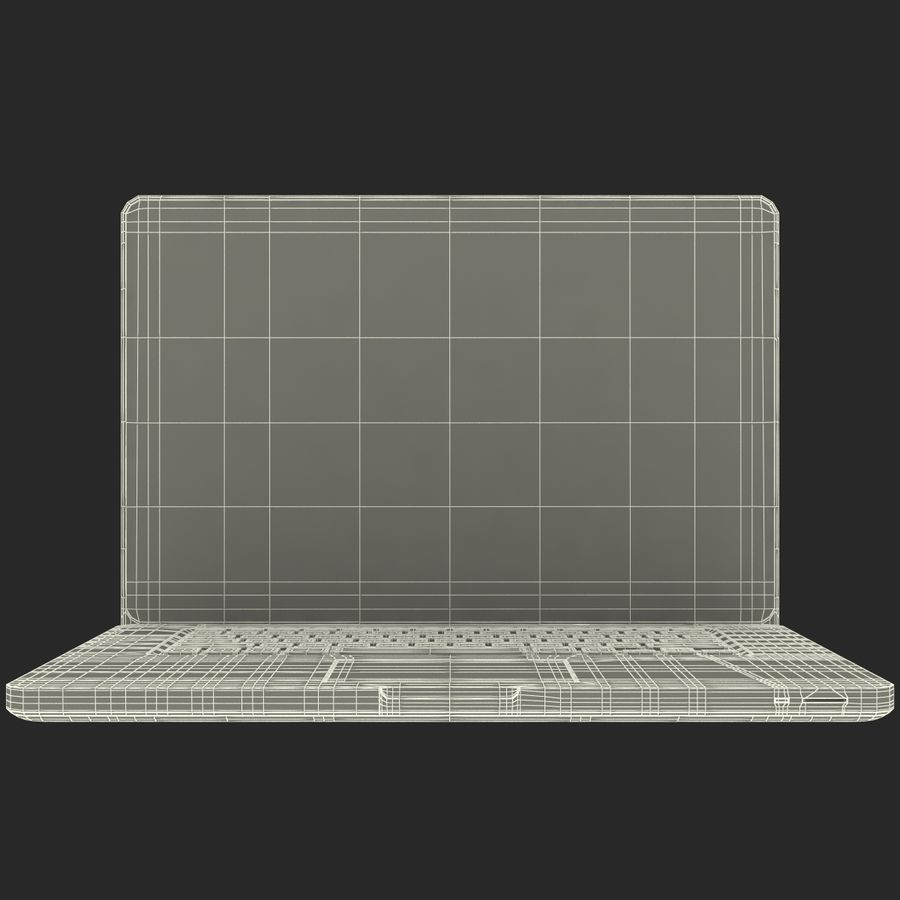 Apple MacBookPro 15 royalty-free 3d model - Preview no. 34