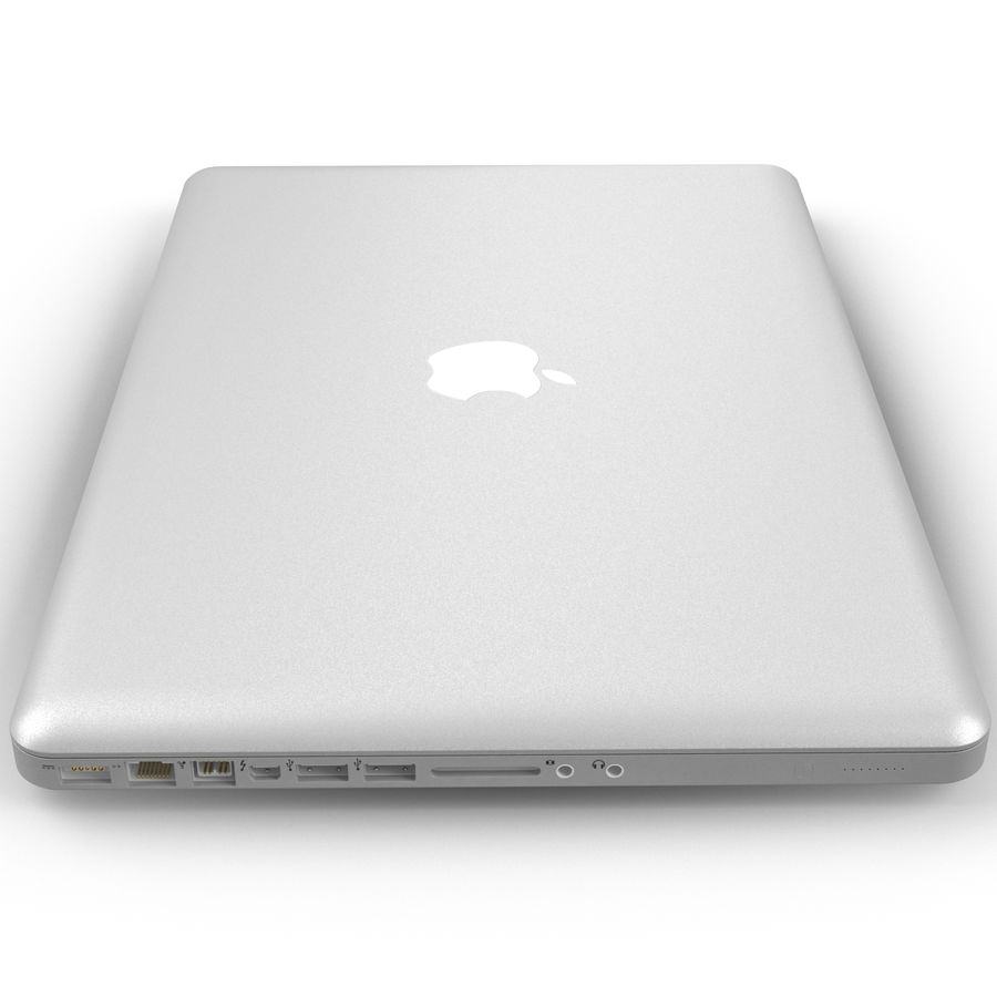 Apple MacBookPro 15 royalty-free 3d model - Preview no. 23
