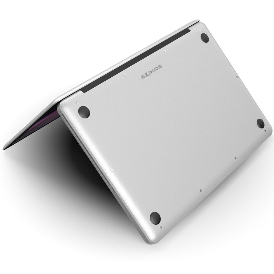 Apple MacBookPro 15 royalty-free 3d model - Preview no. 9